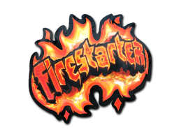 Sticker | Firestarter (Holo)