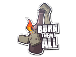 Sticker | Burn Them All