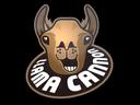 Sticker | Llama Cannon