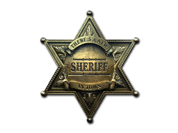 Sticker | New Sheriff (Foil)