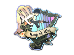 Sticker | Harp of War (Holo)