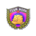 Sticker | Teamwork (Holo)