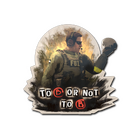 Sticker | To B or not to B