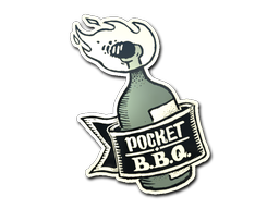 Sticker | Pocket BBQ
