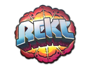 Sticker | Rekt (Holo)
