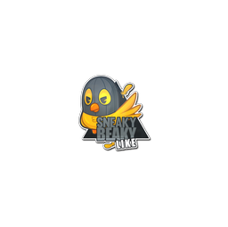 Sticker   Sneaky Beaky Like
