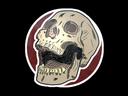 Sticker   Rising Skull