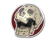 Sticker Rising Skull
