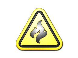 Sticker | Flammable (Foil)
