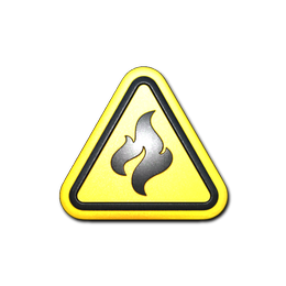 Flammable (Foil)