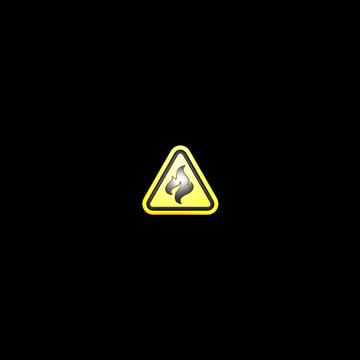 Sticker   Flammable (Foil)
