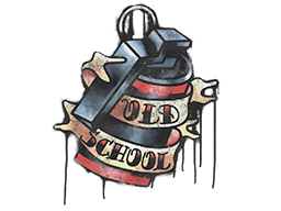 Sealed Graffiti | Old School