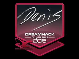 Sticker | denis | Cluj-Napoca 2015