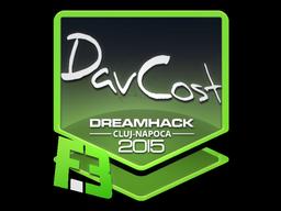 Sticker | DavCost | Cluj-Napoca 2015