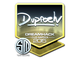 Sticker | dupreeh (Foil) | Cluj-Napoca 2015