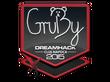 Sticker GruBy | Cluj-Napoca 2015
