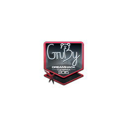 Sticker | GruBy (Foil) | Cluj-Napoca 2015