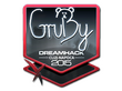 Sticker GruBy (Foil) | Cluj-Napoca 2015