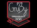 Sticker   GruBy   Cluj-Napoca 2015