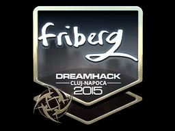 Sticker | friberg (Foil) | Cluj-Napoca 2015