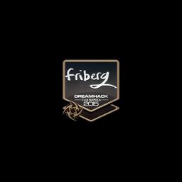 Sticker | friberg | Cluj-Napoca 2015