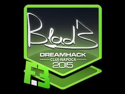 Sticker | B1ad3 | Cluj-Napoca 2015