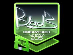 Sticker | B1ad3 (Foil) | Cluj-Napoca 2015