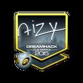 Sticker | aizy <br>(Foil) | Cluj-Napoca 2015