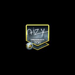 Sticker | aizy (Foil) | Cluj-Napoca 2015