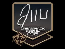 Sticker | allu | Cluj-Napoca 2015