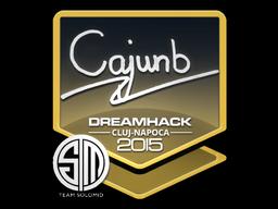 Sticker | cajunb | Cluj-Napoca 2015