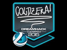 Sticker | coldzera | Cluj-Napoca 2015