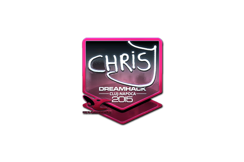 Sticker | chrisJ (Foil) | Cluj-Napoca 2015 Prices