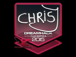 Sticker | chrisJ | Cluj-Napoca 2015