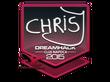 Sticker chrisJ   Cluj-Napoca 2015