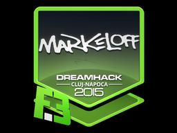 Sticker | markeloff | Cluj-Napoca 2015