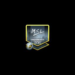 Sticker   MSL (Foil)   Cluj-Napoca 2015