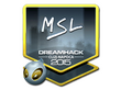 Sticker MSL (Foil) | Cluj-Napoca 2015