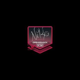 Sticker | NiKo | Cluj-Napoca 2015