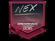 Sticker nex | Cluj-Napoca 2015