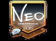 Sticker NEO (Foil) | Cluj-Napoca 2015