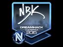 Sticker   NBK- (Foil)   Cluj-Napoca 2015