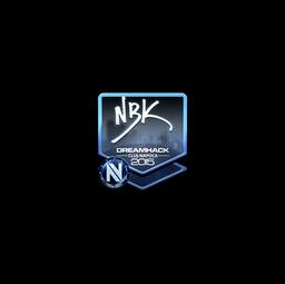 Sticker | NBK- (Foil) | Cluj-Napoca 2015
