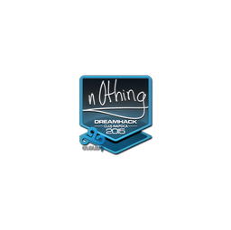 Sticker | n0thing | Cluj-Napoca 2015