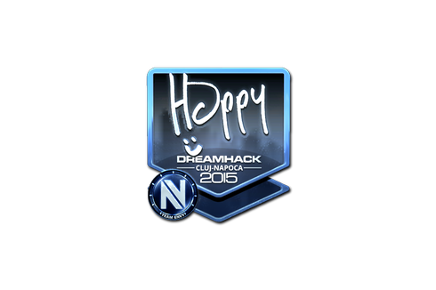 Sticker | Happy (Foil) | Cluj-Napoca 2015 Prices