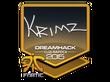 Sticker KRIMZ | Cluj-Napoca 2015