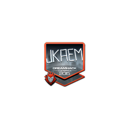 Sticker | jkaem (Foil) | Cluj-Napoca 2015