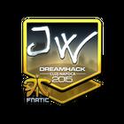 Sticker | JW (Foil) | Cluj-Napoca 2015