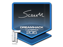 Sticker | ScreaM | Cluj-Napoca 2015