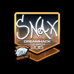 Snax (Foil) | Cluj-Napoca 2015